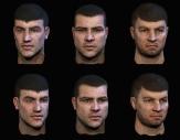 Alpha Protocol : Thug Faces