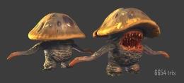 Obsidian - Mushroom creature