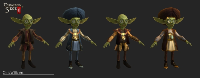 Goblins and clothing sets