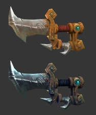 Stylized dagger