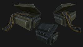 Stylized ammo crate